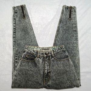 Vintage JORDACHE Acid Wash High Waist Jeans